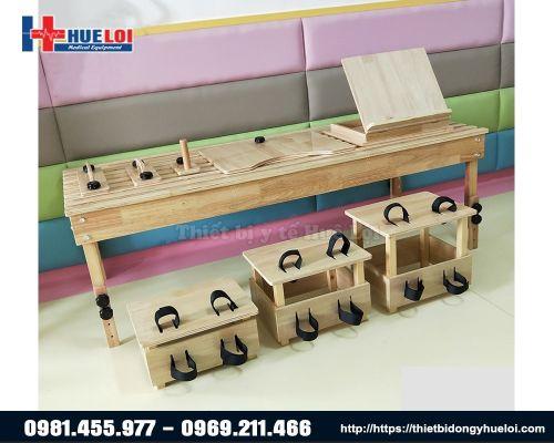 Bộ dụng cụ tập ngồi, tập thăng bằng, tập khả năng phối hợp các hoạt động cho trẻ em