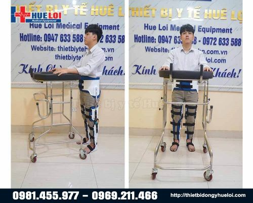 Nẹp hỗ trợ tập đứng và tập đi cho người đột quỵ