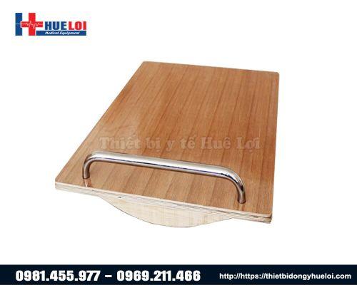 Ván gỗ tập thăng bằng cho người lớn có tay vịn