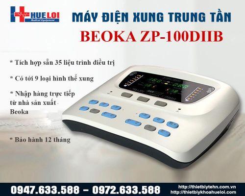 MÁY ĐIỆN XUNG TRUNG TẦN ZP-100 DIIB