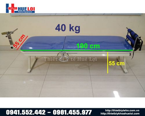 Giường kéo giãn cột sống lưng cổ cơ học