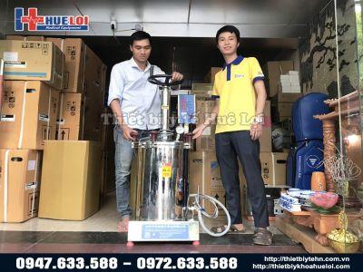 Bàn giao Máy Sắc Thuốc Áp Suất Cao tại Hà Nội