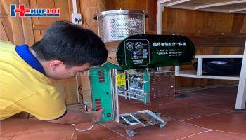 Bàn giao Máy Sắc Thuốc tại Bắc Giang