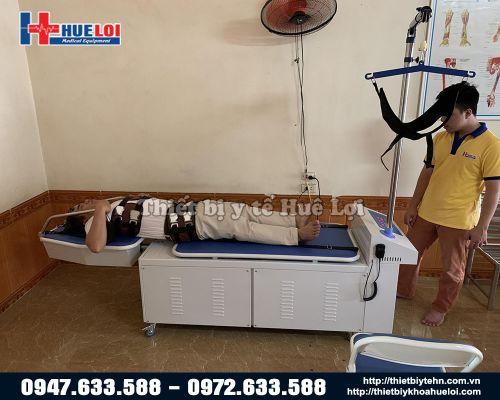 Giường kéo giãn cột sống lưng cổ bằng điện cao cấp