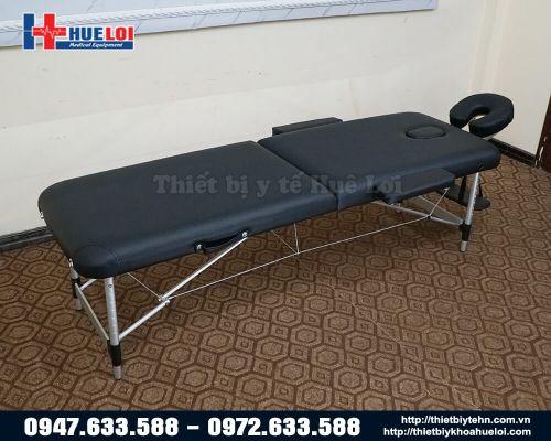 Giường châm cứu dạng vali chân nhôm HL2