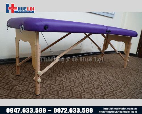 Giường châm cứu xoa bóp dạng vali HL3