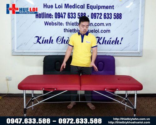 Giường massage trị liệu gấp gọn HL4