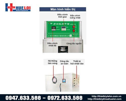 Tủ sấy thuốc bắc 10 tầng 40cm MYK-10B