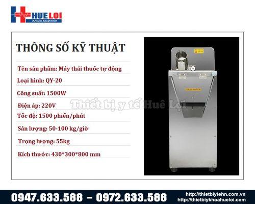 Máy cắt thuốc đông y tự động