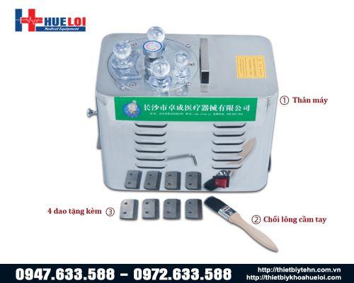 Máy cắt dược liệu Đông y tự động