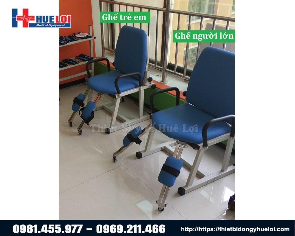 Mẫu ghế tập luyện khớp háng cho trẻ em và người lớn