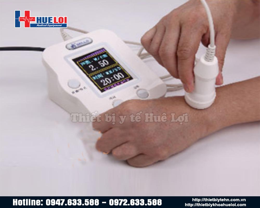 Máy siêu âm mini dùng để điều trị bệnh