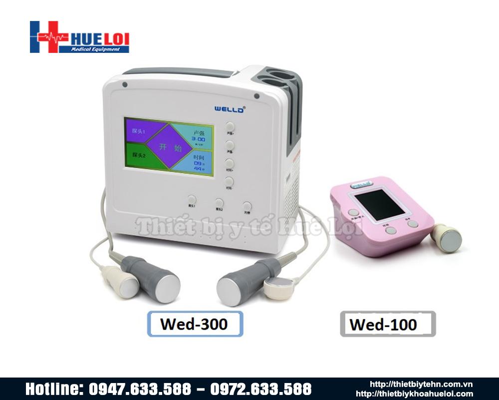 Máy siêu âm điều trị wed 300 và wed 100