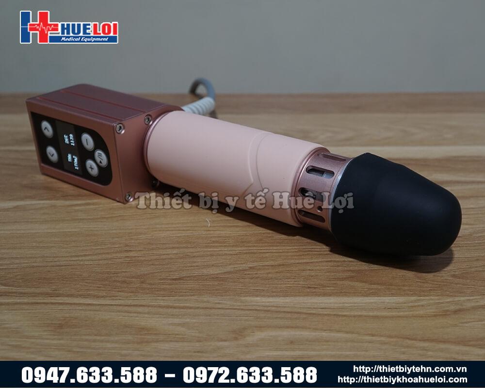 đầu massage của máy xung kích trị liệu mini