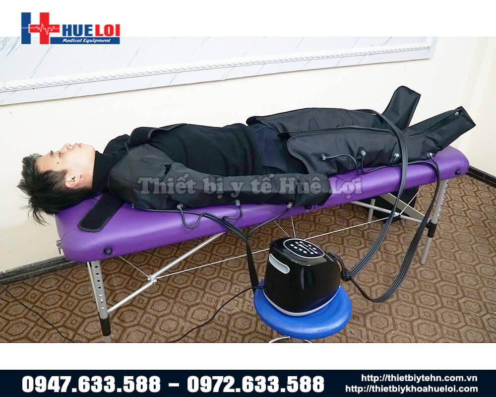 máy massage trị liệu khí nén