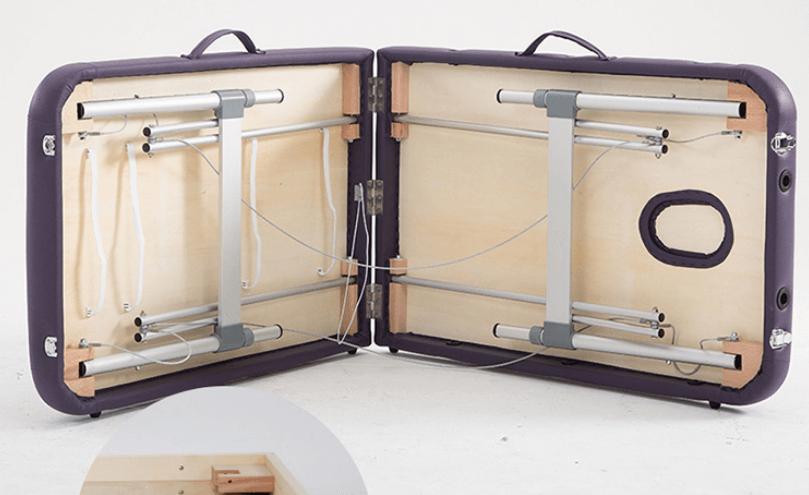 giường châm cứu chân nhôm dạng vali