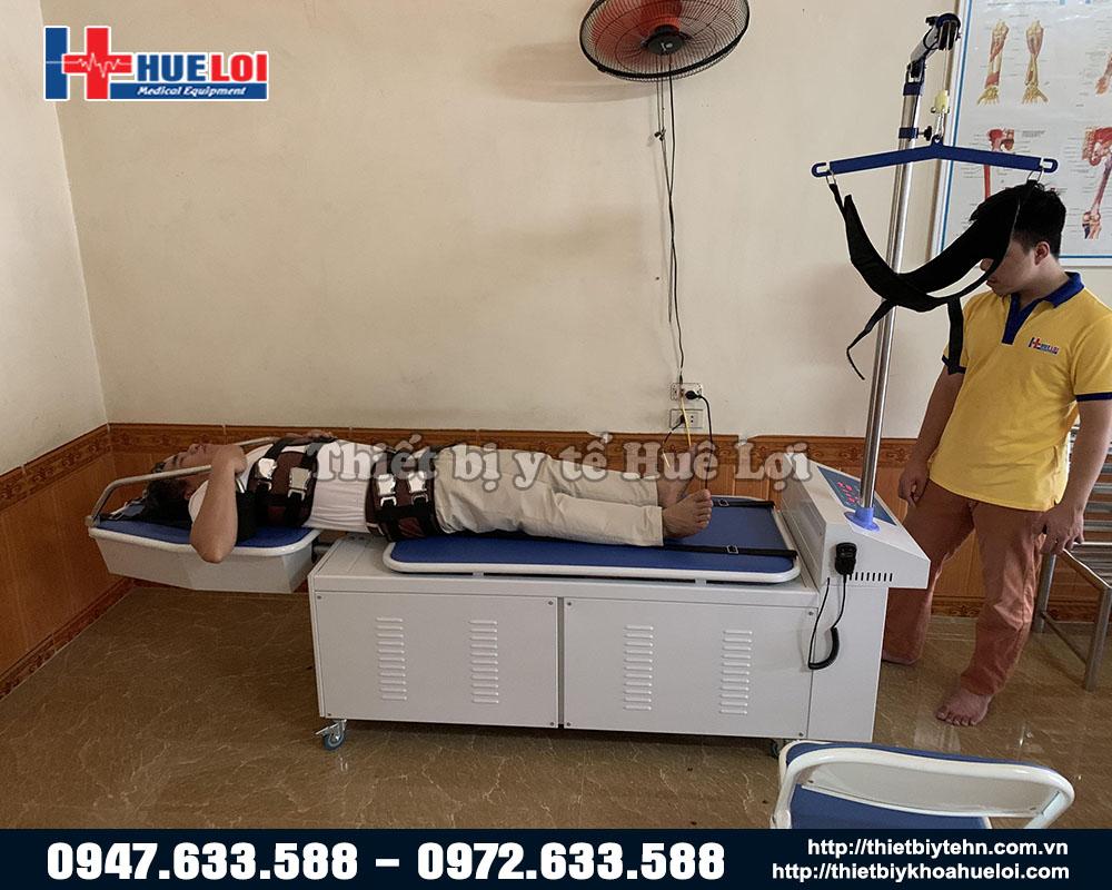 giường kéo giãn cao cấp bằng điện