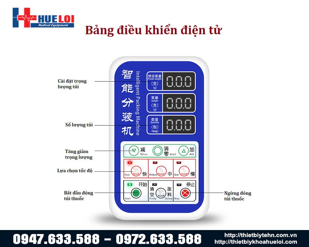 máy đóng gói thuốc đông y tự động