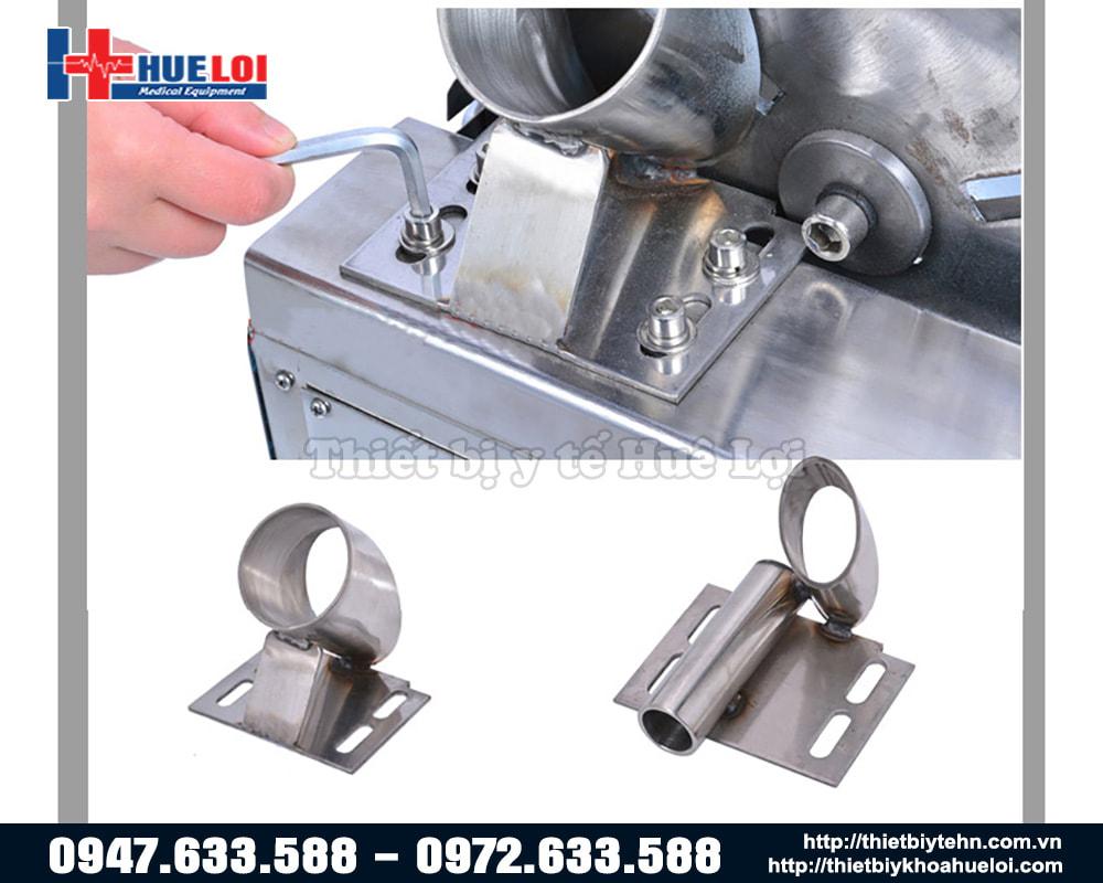 Các bộ phận của máy cắt thuốc đông y