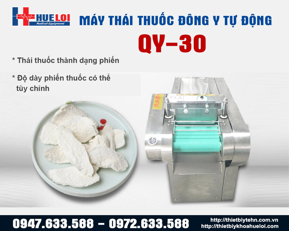 Máy cắt dược liệu đông y